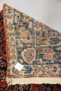 ANTIQUE ORIENTAL RUG MEASURING 6 FT 7 INCHES X 4 FT 2 INCHES