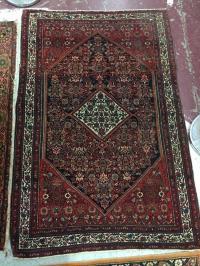 Antique Persian Throw Carpet