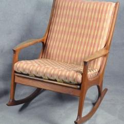 Adrian Pearsall Rocking Chair Retro High Chairs Babies Rocker Lot 223