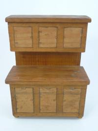 Antique German & Handmade Dollhouse Furniture