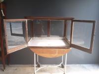 Antique General Store Countertop Display Cabinet
