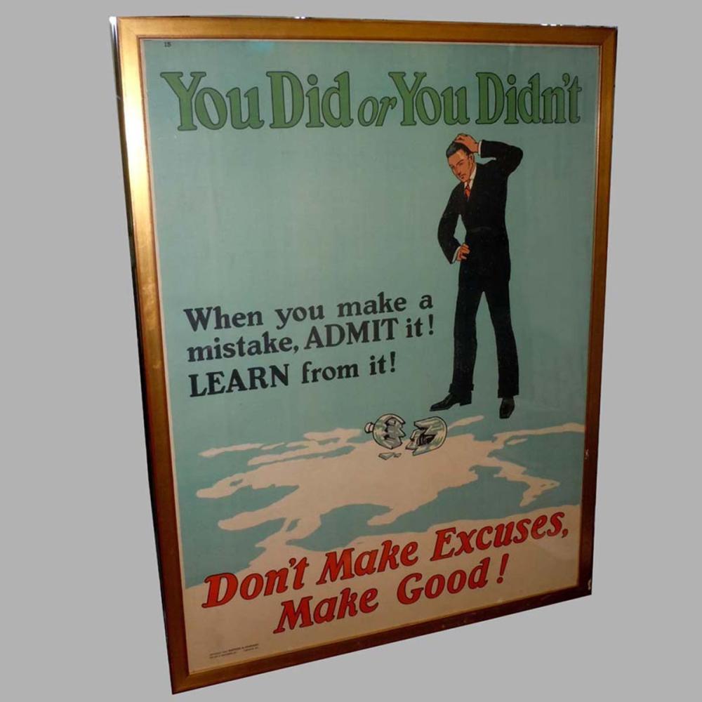 motivation poster 1924 mather