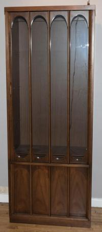Mid-Century Style Lighted China Cabinet