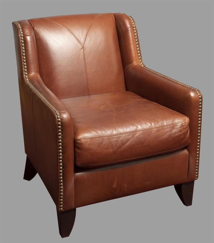 bernhardt brown leather club chair folding chairs