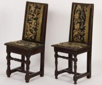 Near Pr. of 17th C.,Baroque Tapestry Hall Chair