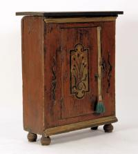 Continental Painted Storage Cabinet