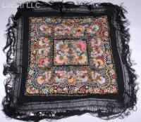A Spanish Silk Shawl
