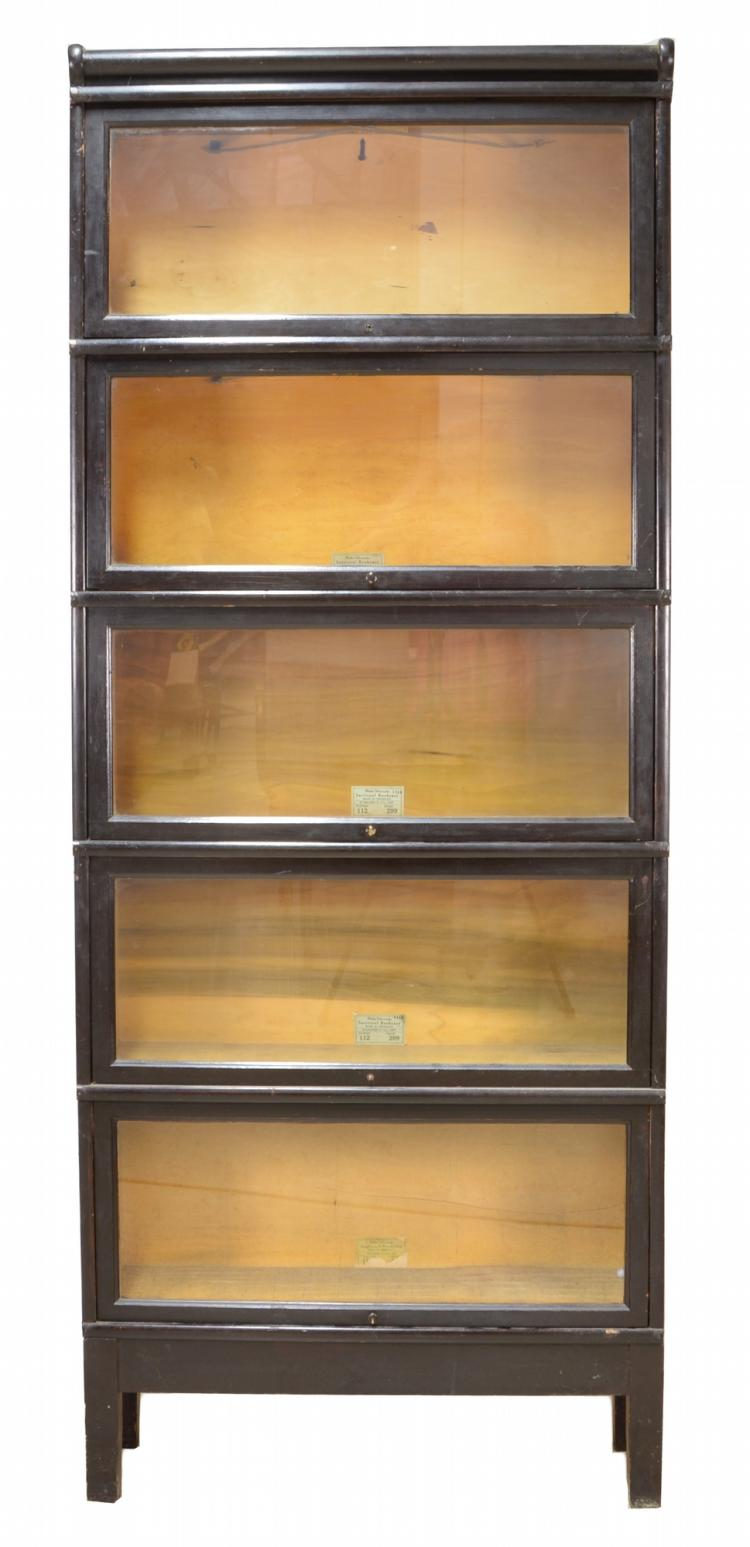 Globe Wernicke Stacking Sectional Bookcase