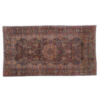 Room-size Kirman carpet