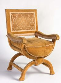 A Spanish throne chair, 18th century
