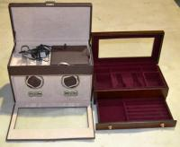 Automatic watch winder cabinet, watch storage cabinet