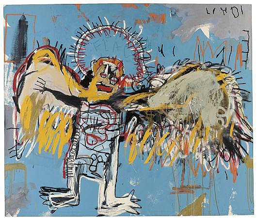 kings chair for sale posture gaming jean-michel basquiat works on at auction & biography