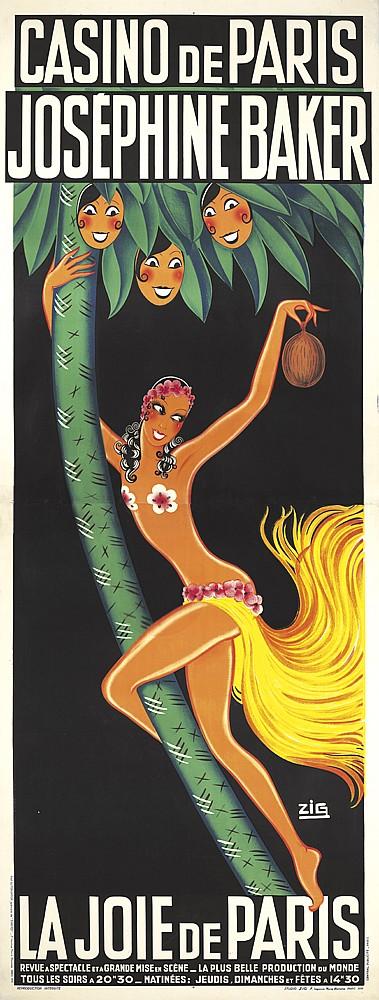 Casino de Paris / Joséphine Baker / La Joie de Paris. 1932