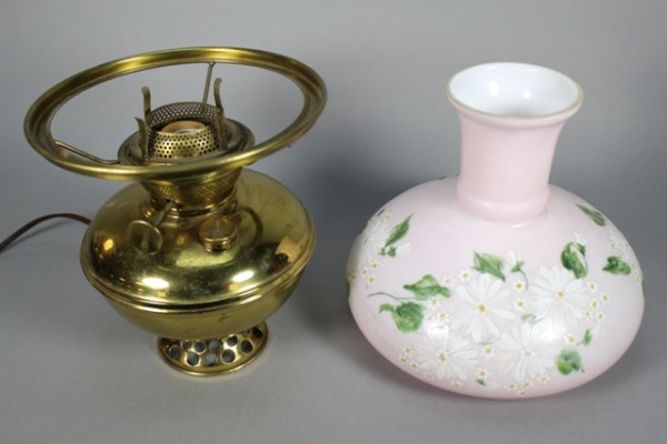 Pittsburgh Lamp Co Electrified SUCCESS Oil Lamp