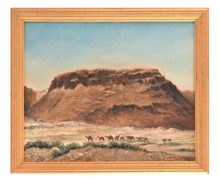 MASADA BY JOSEPH SHEPPARD (AMERICAN. B. 1930).