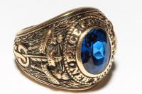 Vintage Pace College 10K Gold Class Ring, 1957