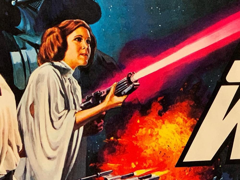 star wars new hope original uk quad 30x40 poster
