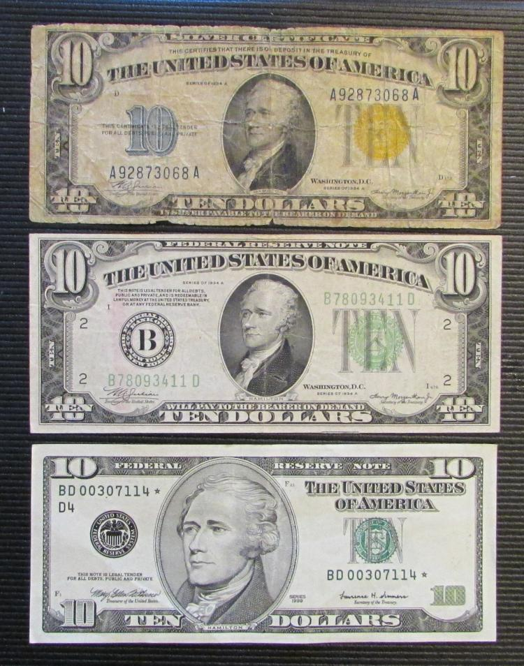 Paper Dollar Silver Certificate 1934