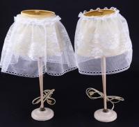 Pair of Vintage Vanity Lamps