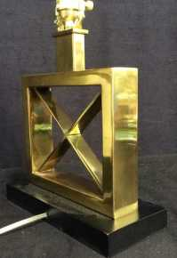 Contemporary Brass Table Lamp