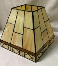 Leaded Glass Lamp Shade