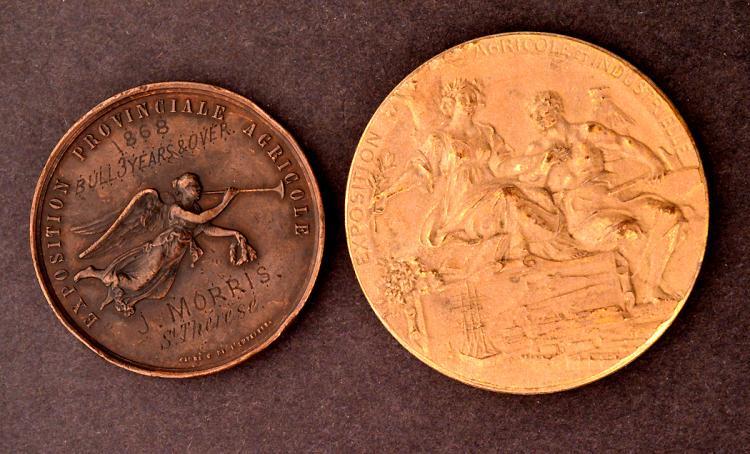 EXPOSITION PROVINCIALE AGRICOLE QUEBEC 1868
