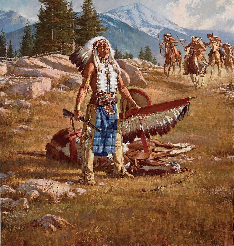 Native American Spirits Honor