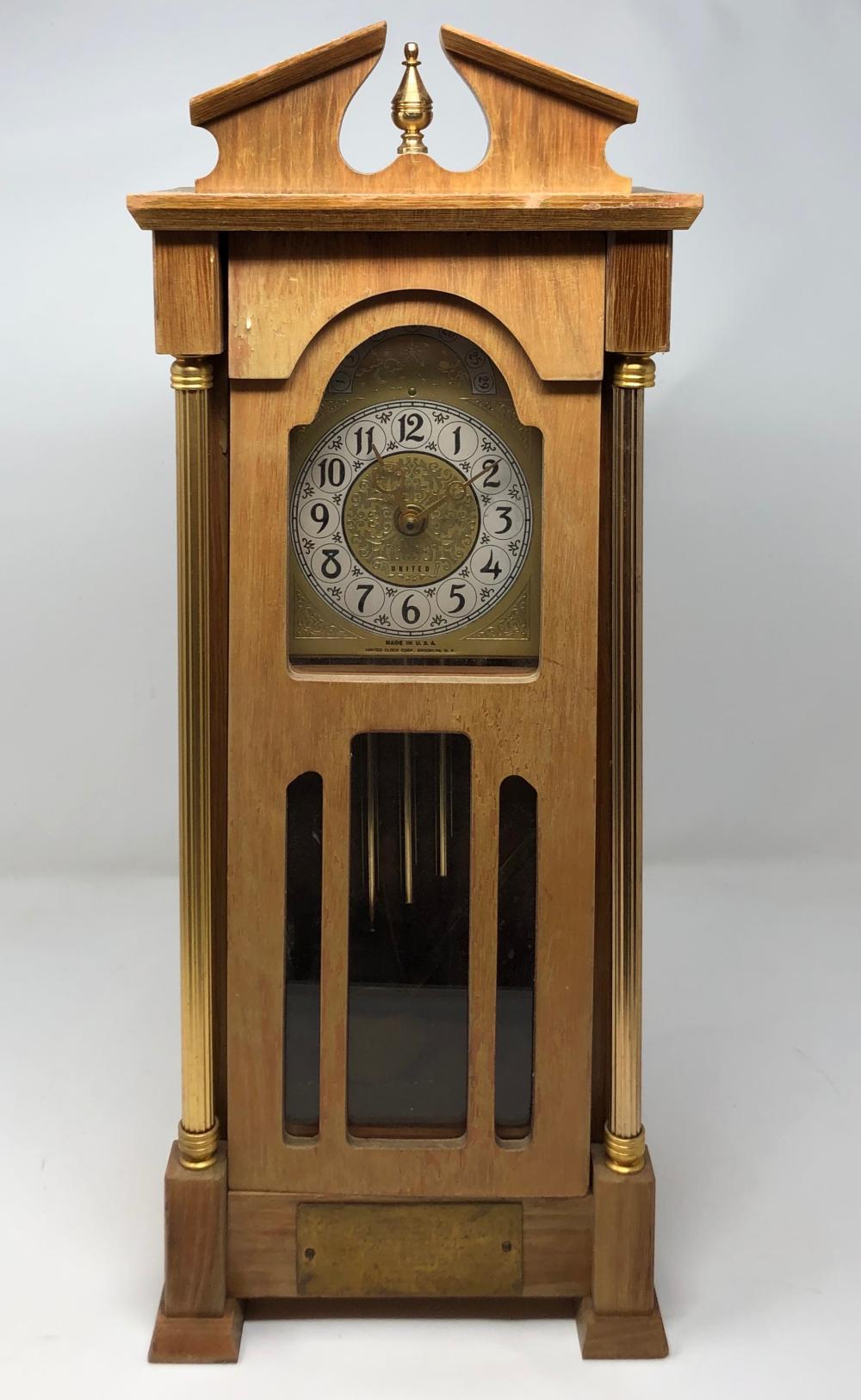 United Clock Corp : united, clock, Price:, Vintage, United, Clock, Mantel, Invalid