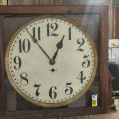Gilbert Kitchen Clock Lights Over Island With Key Lot 88