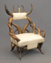 Victorian Horn Chair