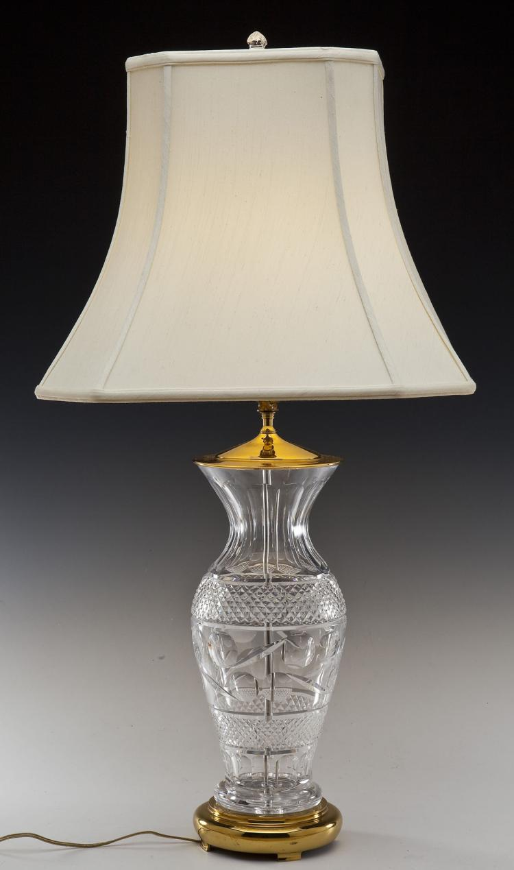 Waterford Crystal Table Lamp