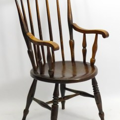 Antique Windsor Chairs Small For Living Room Sale At Online Auction Buy Rare A Late 19thc Early 20thc Oak And Beech Ibex Style Spindle Back Ch