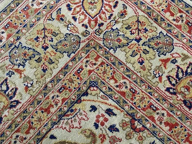 Carpet  Rug  A Large Machine Made Woollen Carpet