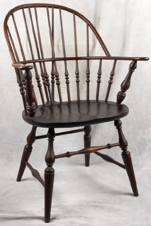 sikes chair company ergonomic office chairs uk l237 antique american windsor sack back bu