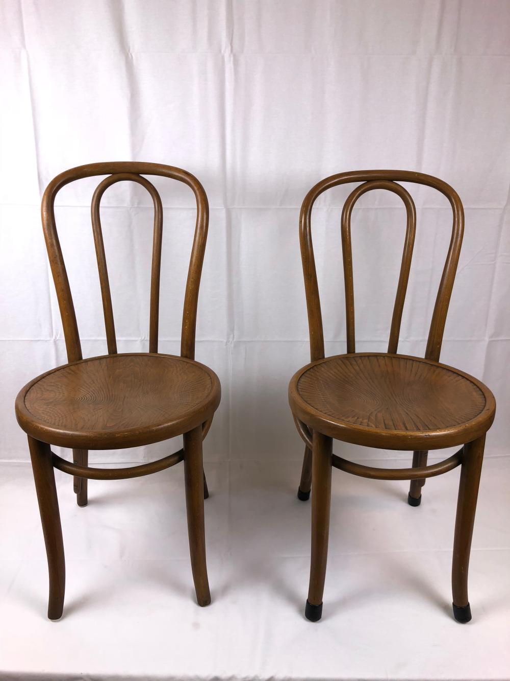 vintage bentwood chairs most comfortable reading chair two thonet lot 22