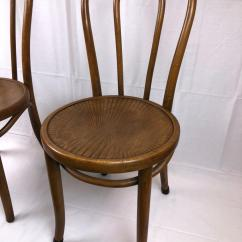 Vintage Bentwood Chairs Wedding Chair Cover Hire Buckinghamshire Two Thonet Lot 22
