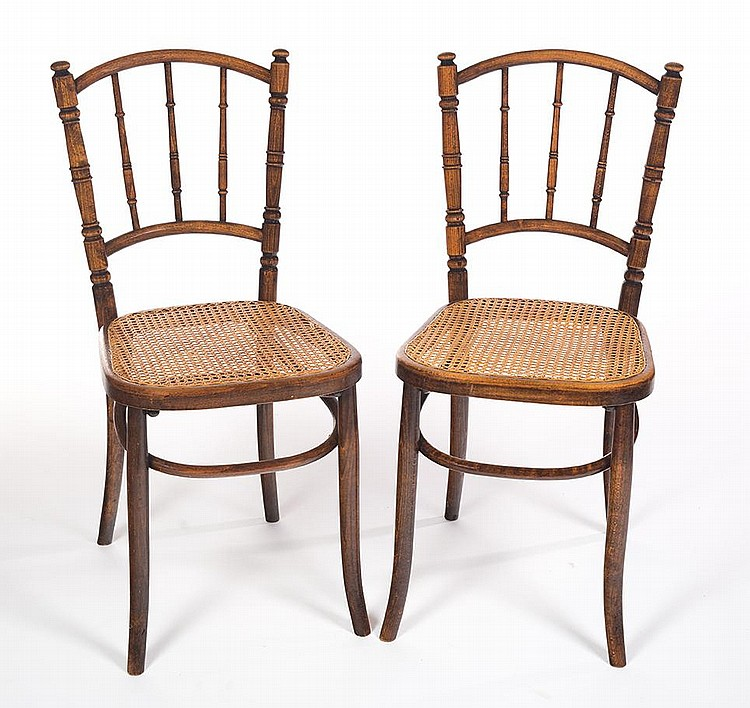 bentwood cane seat chairs dining chair upholstery six lot 1121a