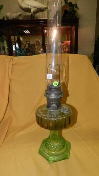Antique Aladdin oil lamp