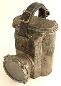 Early Electric Miners Hand Held Lamp
