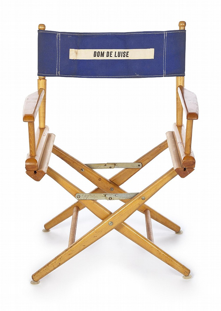 Personalized Directors Chair Dom Deluise Personalized Director S Chair Back
