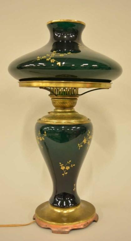 Pittsburgh Success Oil Lamp