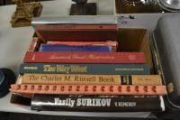 Lot Of Vintage Coffee Table Books Including Charles And Russ