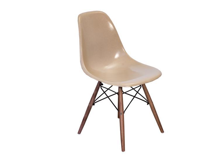 eames fiberglass chair walmart minnie mouse greige shell chairs on walnut dowel base h20326 l117404204 jpg