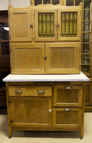 antique farmhouse kitchen cabinets Antique Hoosier Kitchen Farmhouse Cabinet