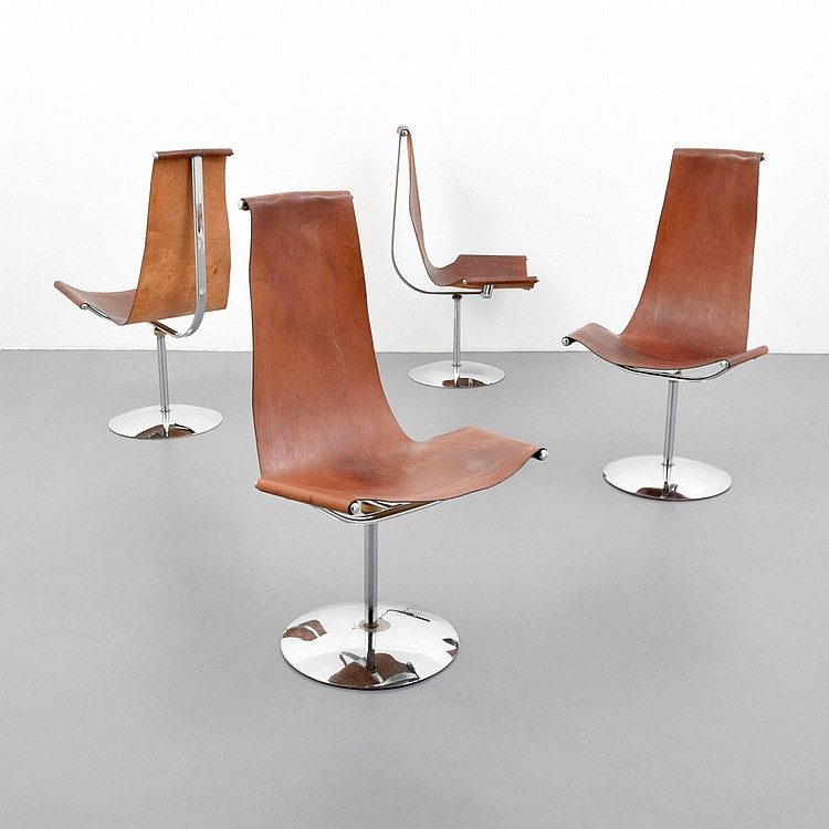 leather sling chairs where to buy chair sashes 4 manner of william katavolos ross littell lot 515 douglas kelley