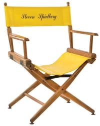 Steven Spielberg personal director's chair for the Back to t