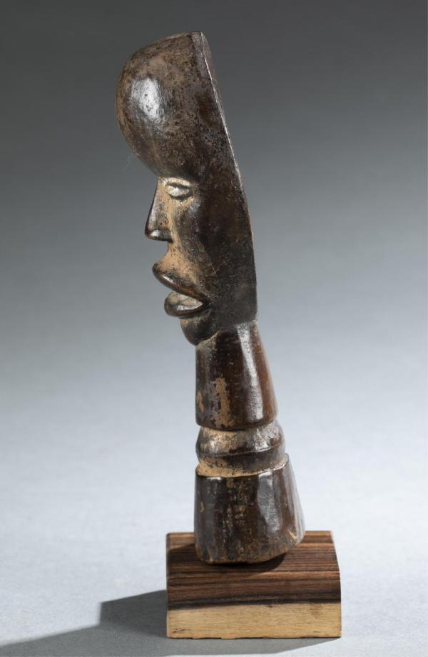 2 West African Objects. 20th Century