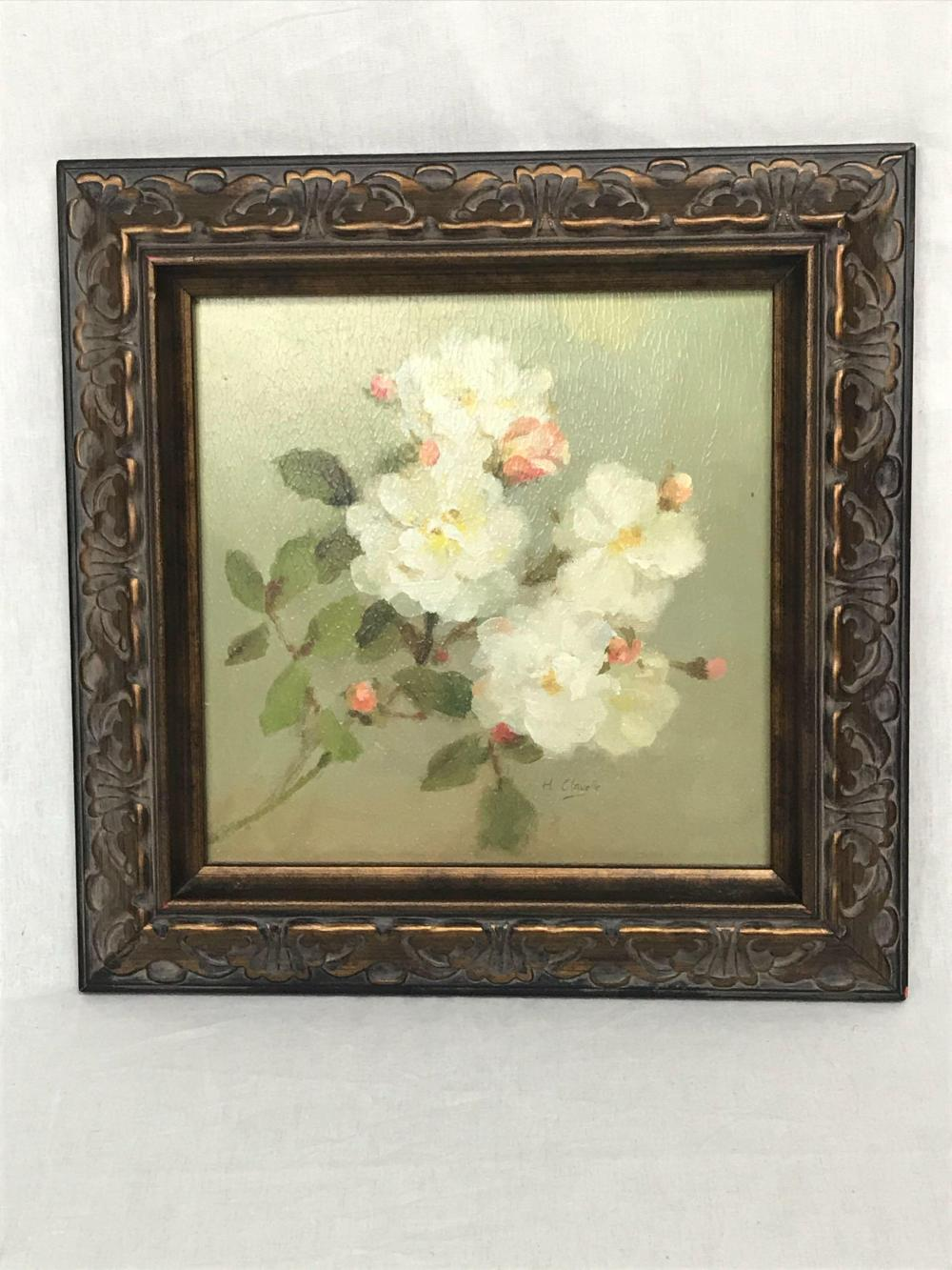 vintage framed print of