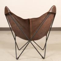 Hardoy Iron and Leather Butterfly Chair