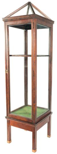 Desirable Glass Winchester Store Display Gun Cabinet